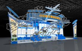 西安航空职业技术学院教博会展览